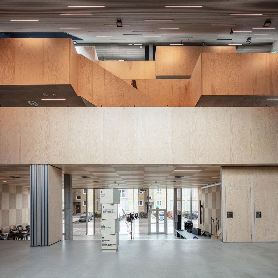 tingbjerg bibliotek indgang