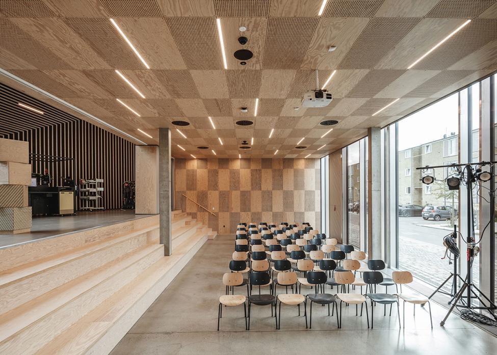 tingbjerg kulturhus mødesal