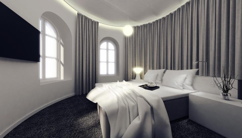 hotel ottilia soveværelse