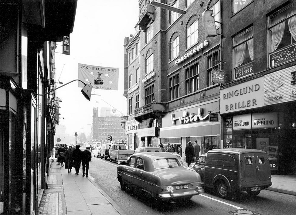 Frederiksberggade Strøget 1962
