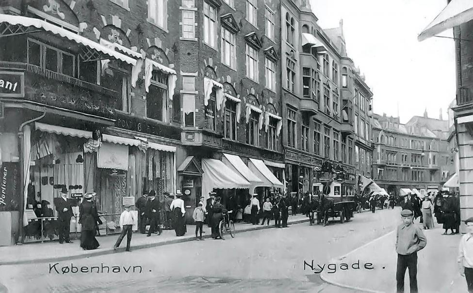 Nygade Strøget 1905