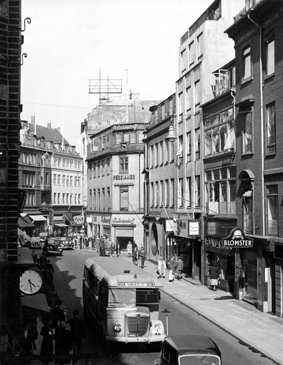 Nygade Strøget 1950