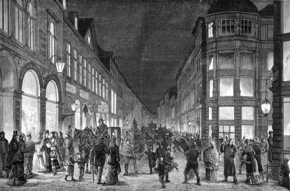 Østergade Strøget 1877
