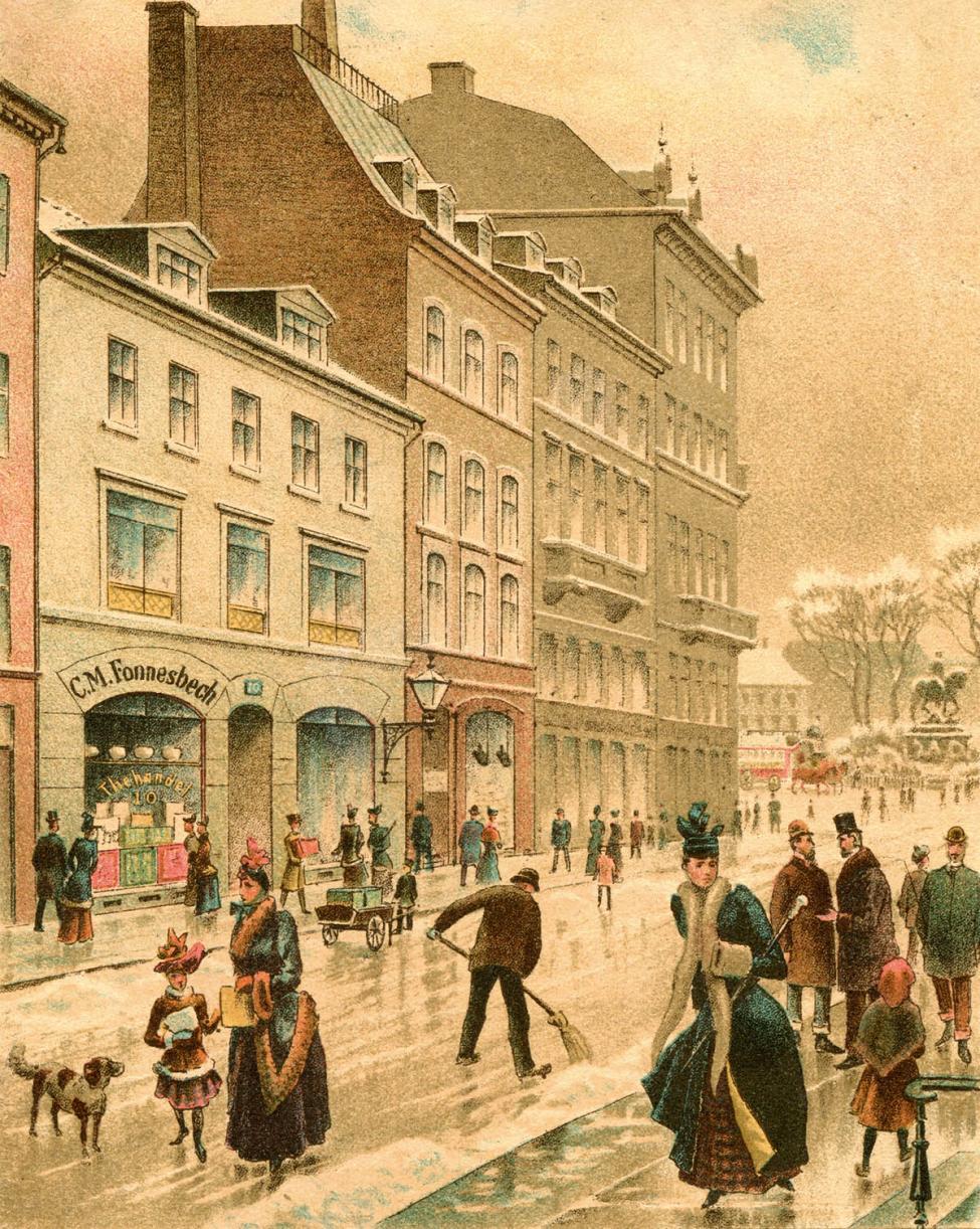 Østergade Strøget 1890