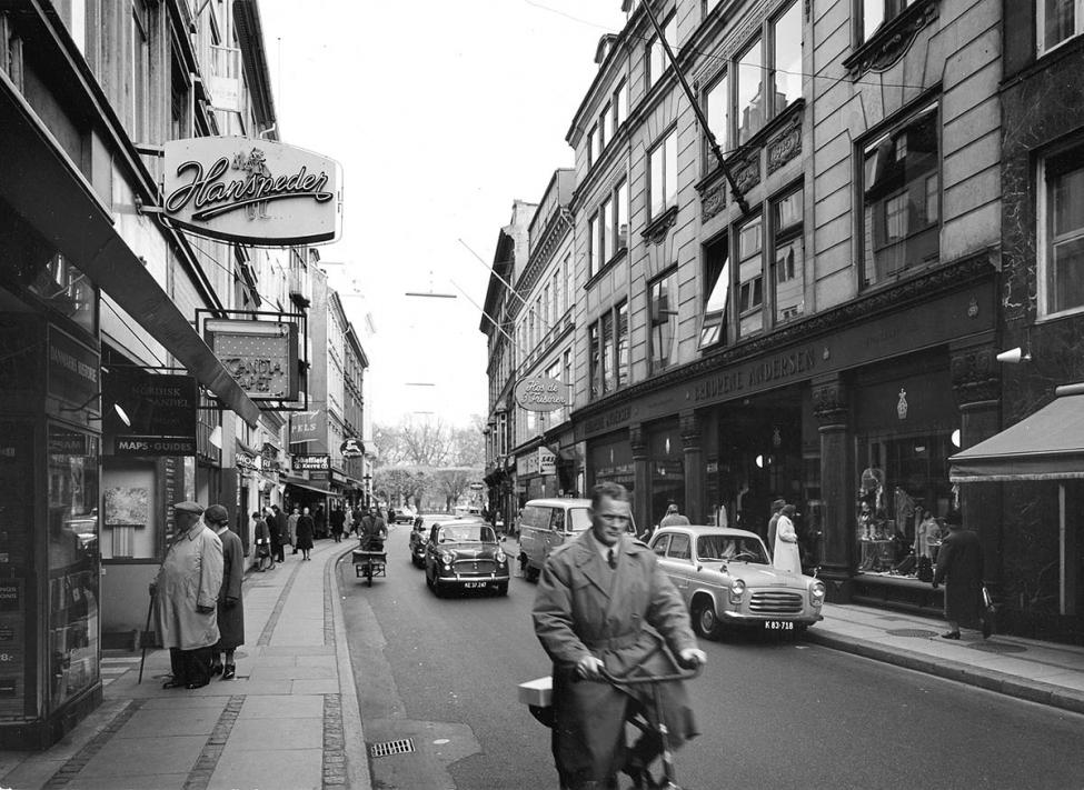 Østergade Strøget 1962