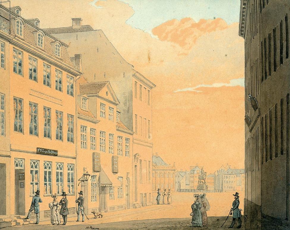 Østergade 1838 Strøget