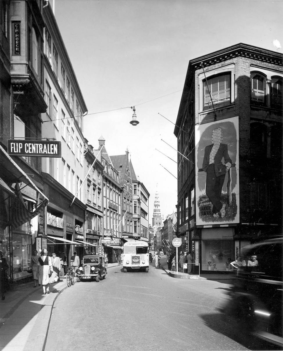 1940erne Vimmelskaftet Strøget