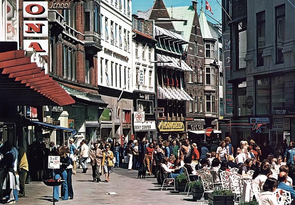 1970erne Vimmelskaftet Strøget