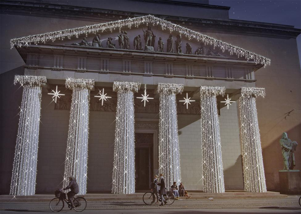 vor frue kirke vinterlys