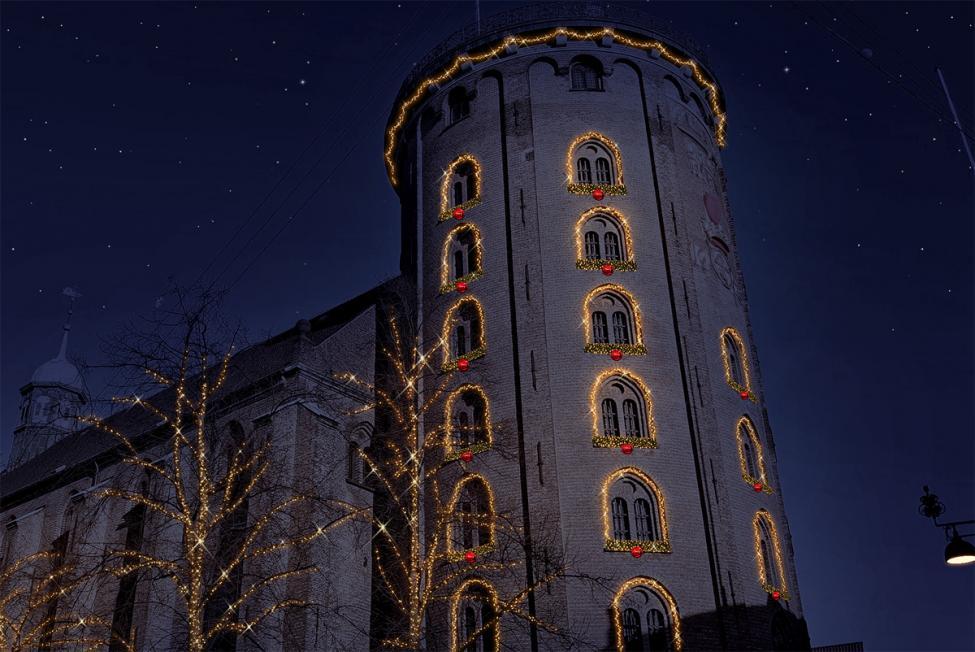 rundetårn vinterlys
