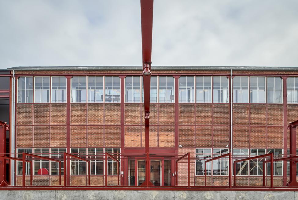 montagehallen jernbindingsværk