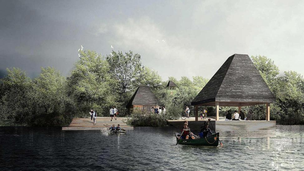 naturpark amager støttepunkt havneslusen