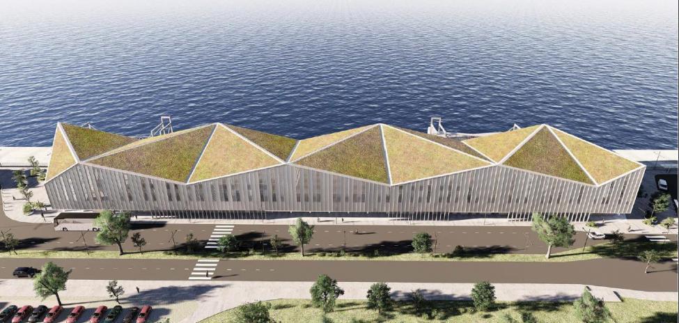 krydstogtterminal 4 ydre nordhavn