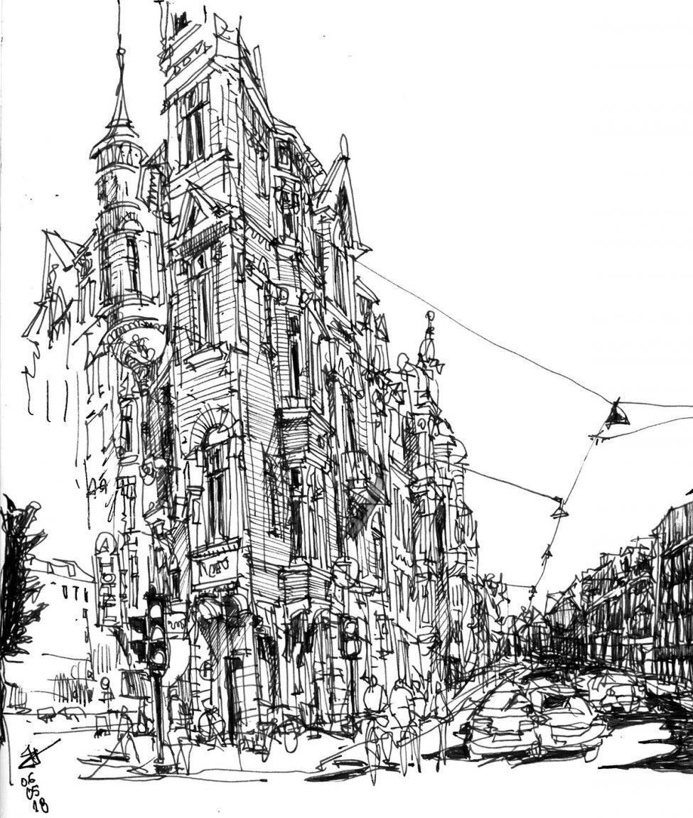tegning københavn 2
