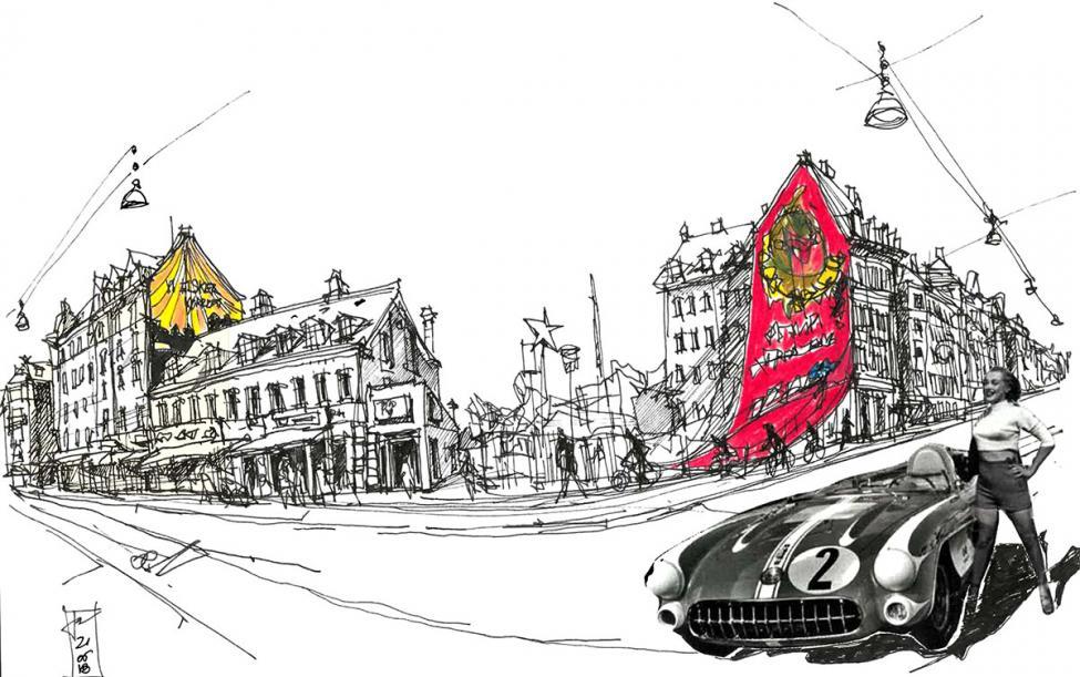 tegning københavn