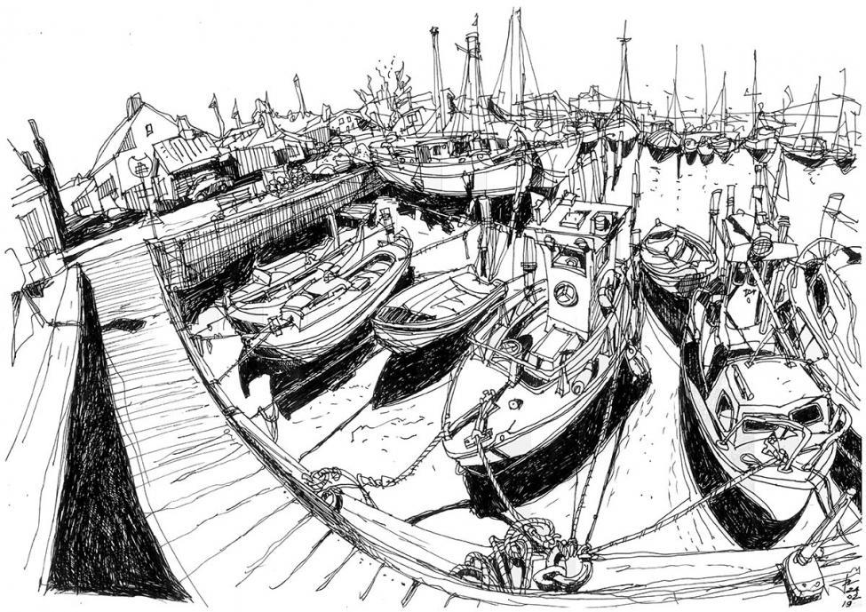 Sydhavn tegning