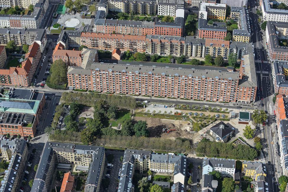 metro cityring Aksel Møllers Have