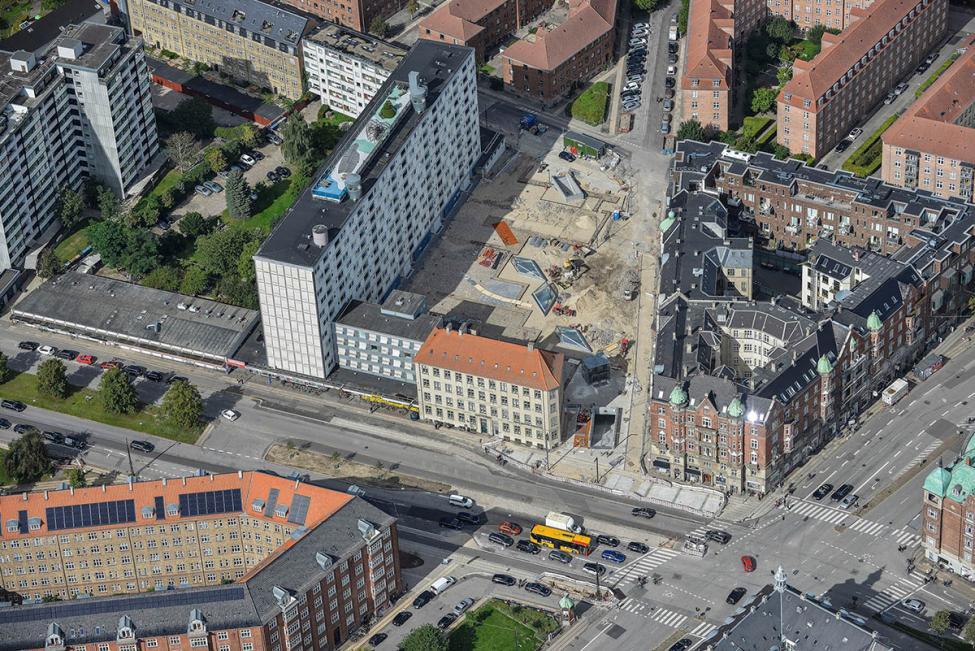 metro cityring Poul Henningsens Plads