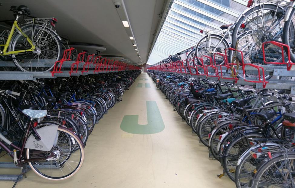 Houden cykelparkering