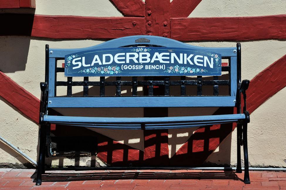 Solvang bench