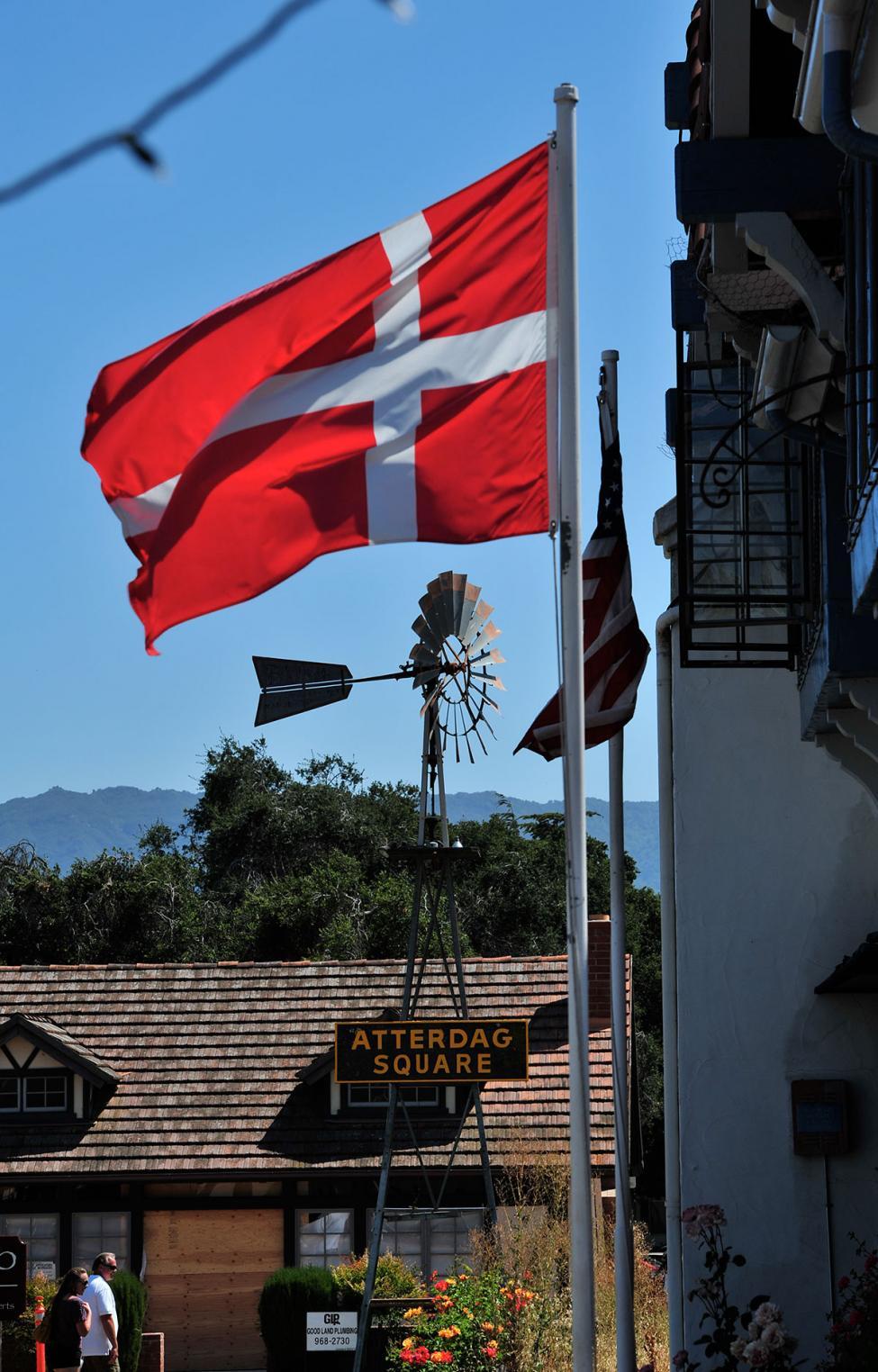 Dansk flag solvang