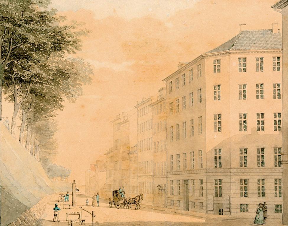 Nørre Voldgade 1845