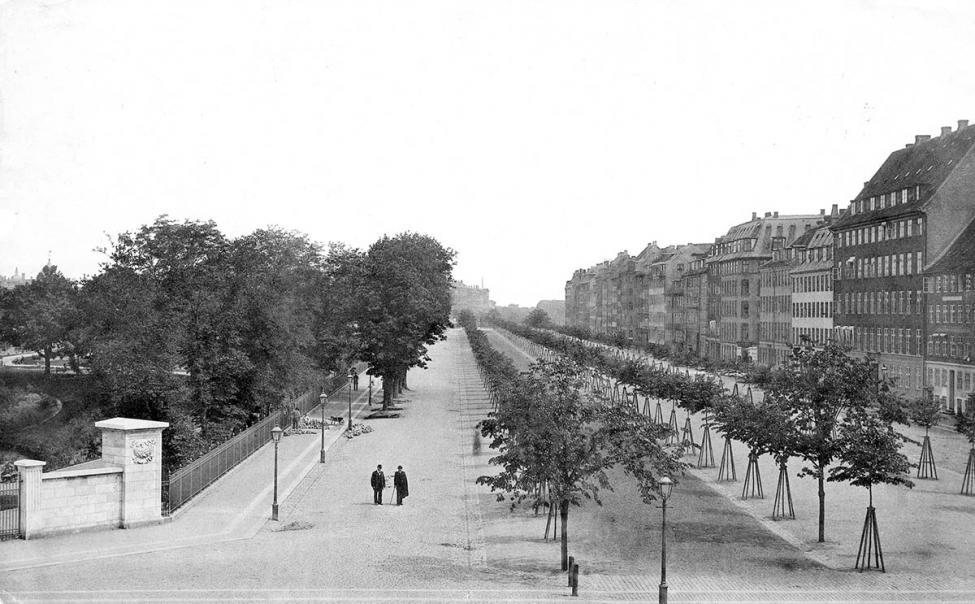 Nørre Voldgade 1890