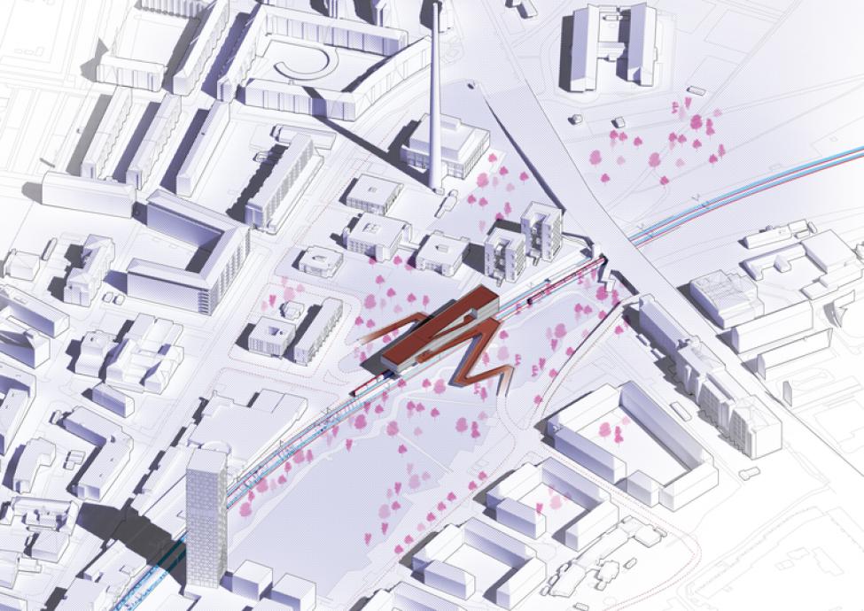 oversigtskort nordvestpassagebygning