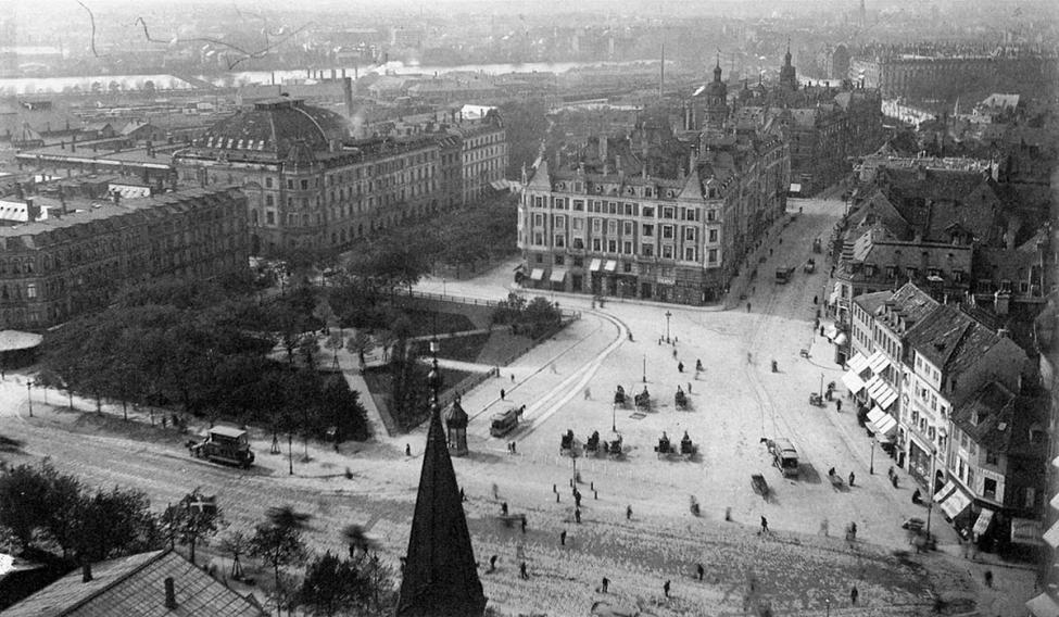 1898 Rådhuspladsen København