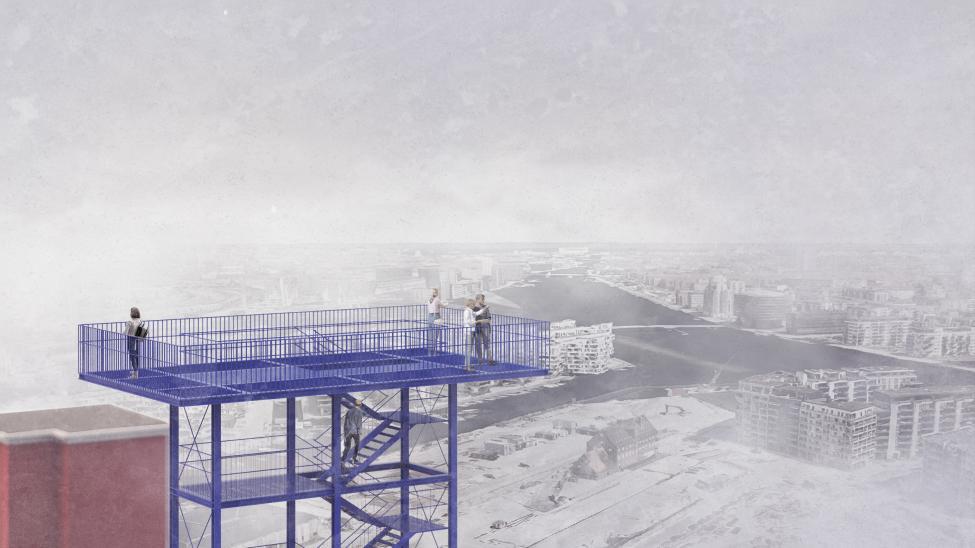 hc ørstedværket udsigtstårn
