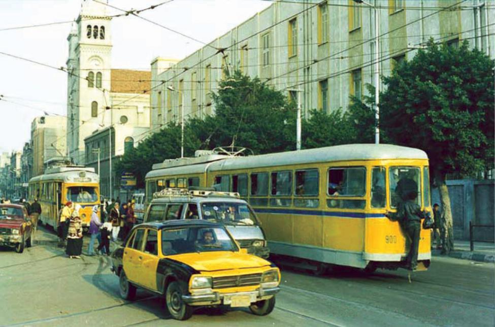 københavnsk sporvogn i Alexandria