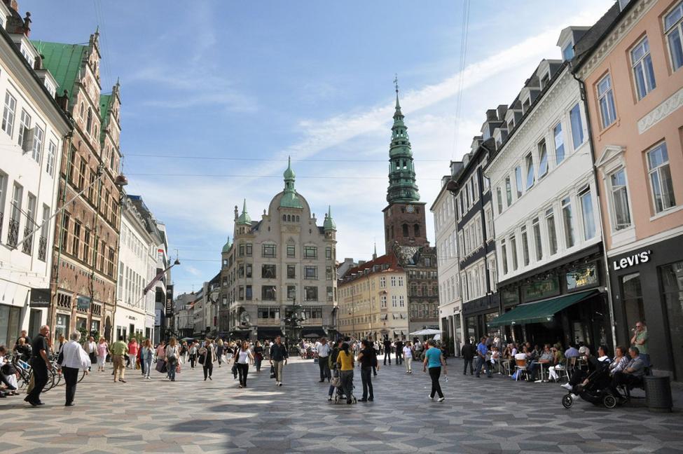Amagertorv København gågade