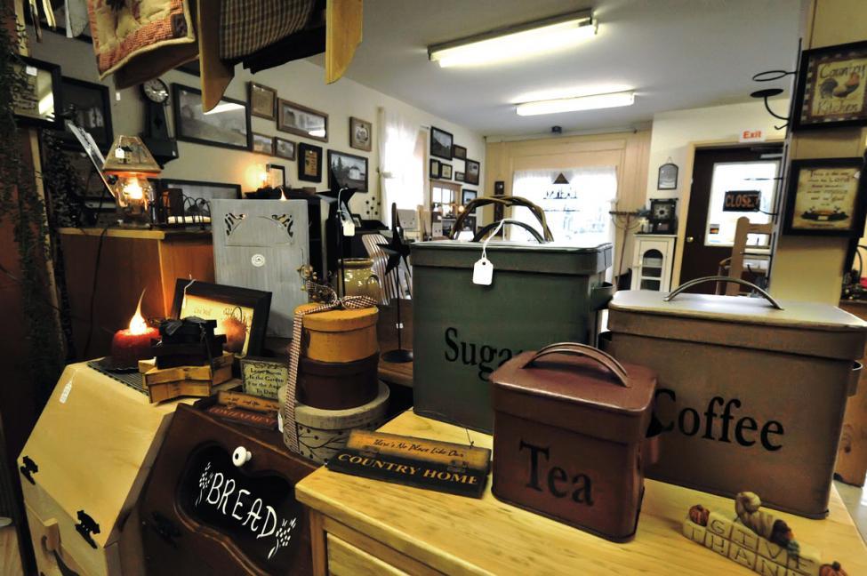 Amish shop in Copenhagen Denmark New York state
