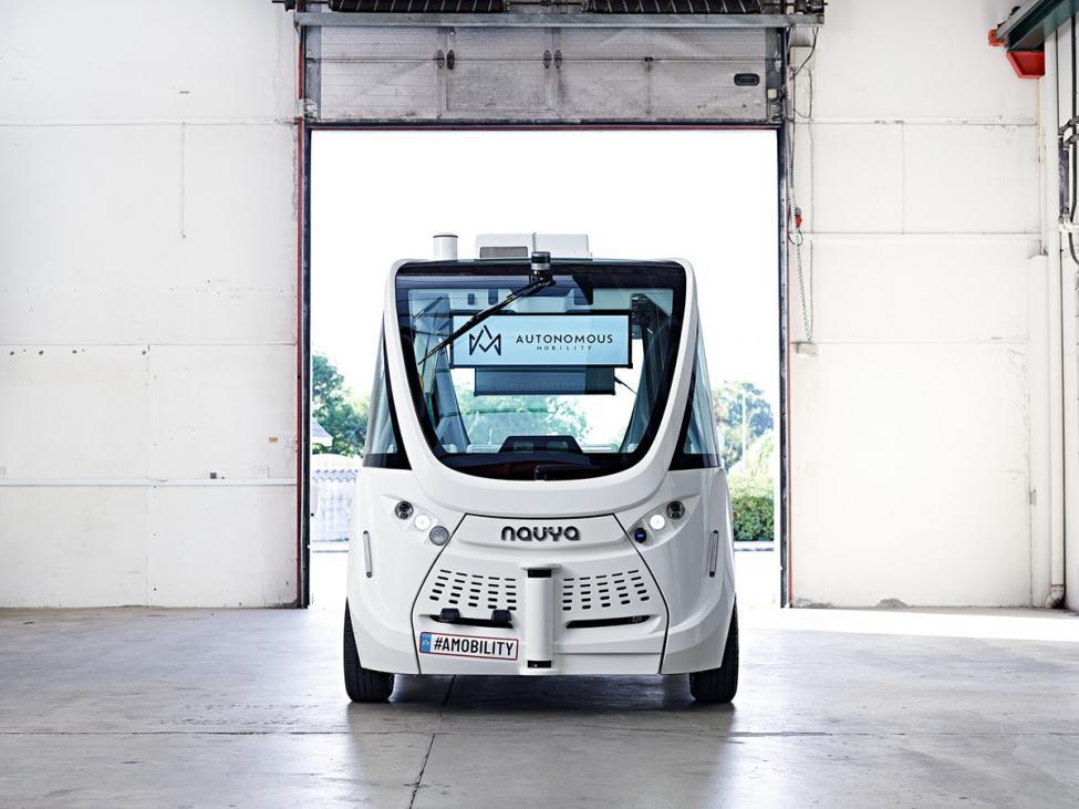 autonomous mobility minibus