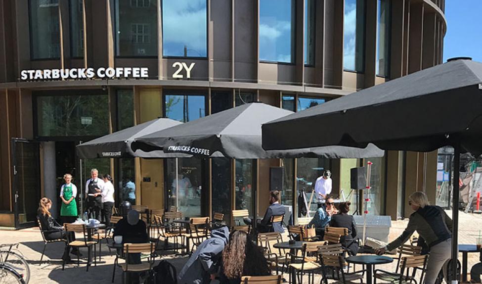 starbucks coffee axeltorv