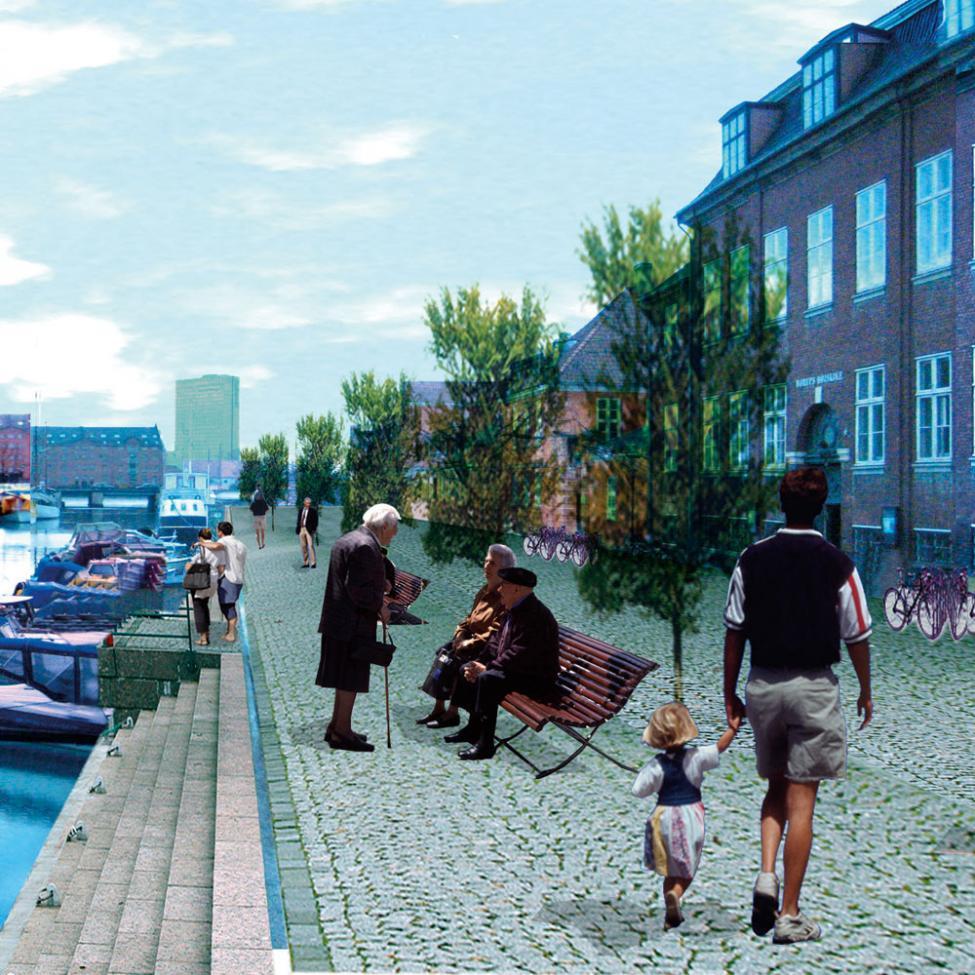frederiksholms kanal bilfri gågade