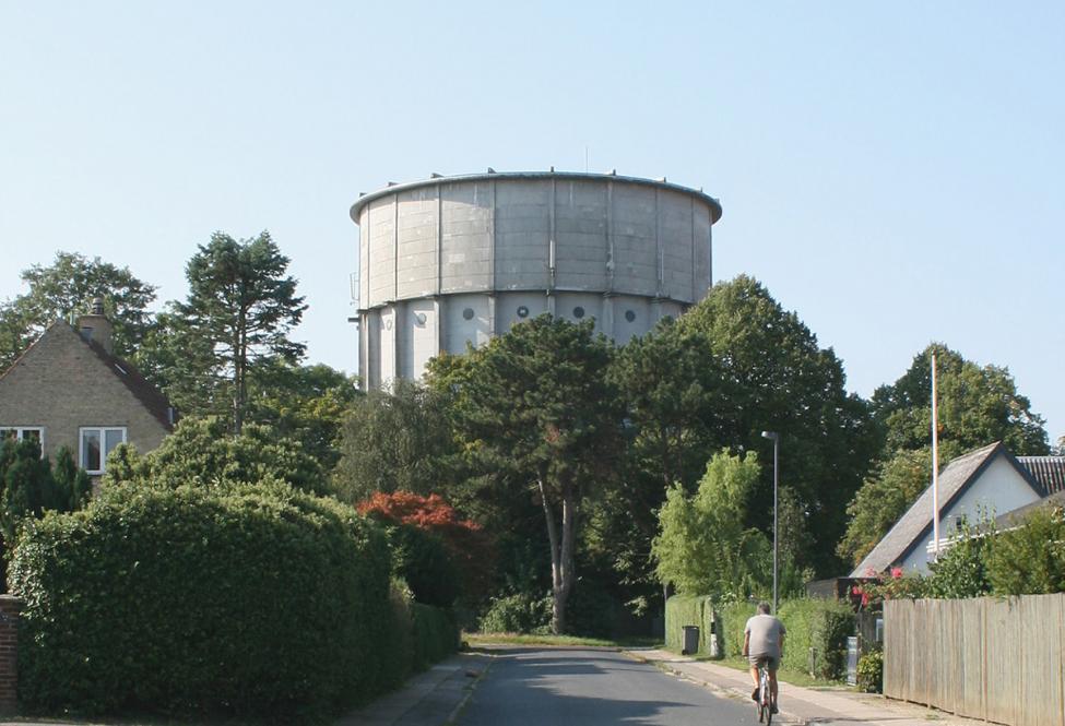 brønshøj vandtårn eksteriør