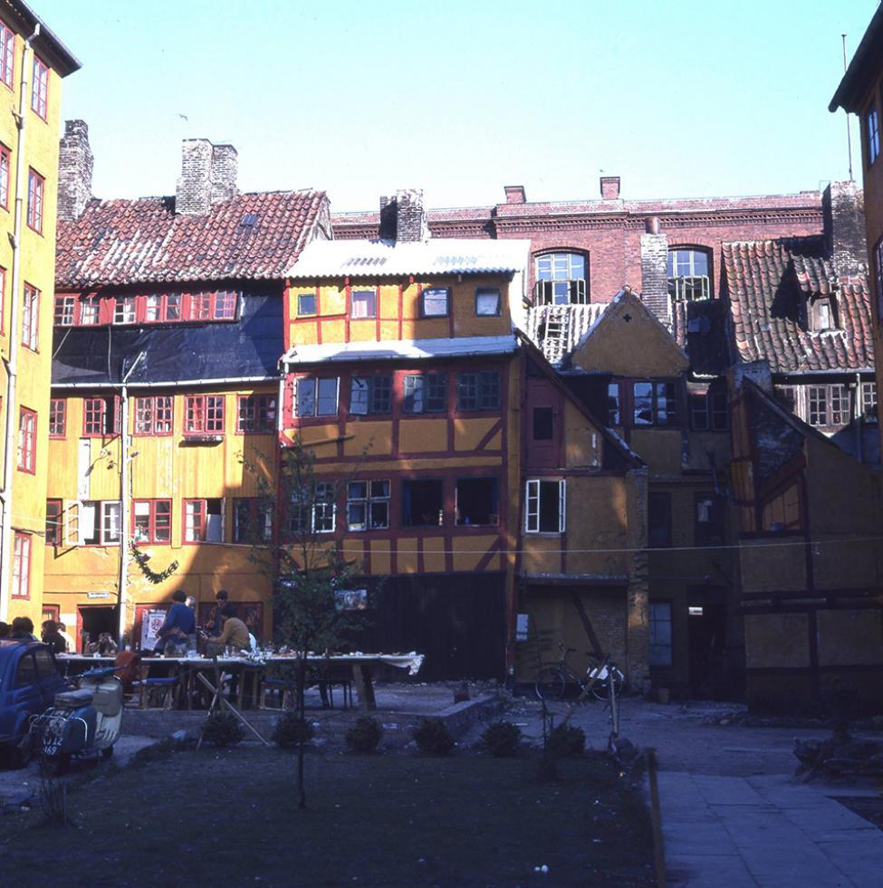 københavnsk baggård 1970erne