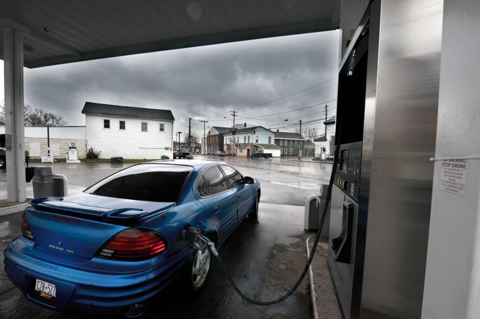 gas station exterior copenhagen new york