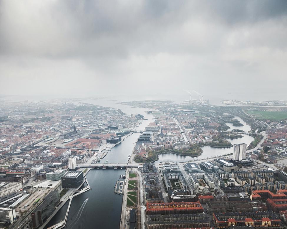 luftfoto indre københavn