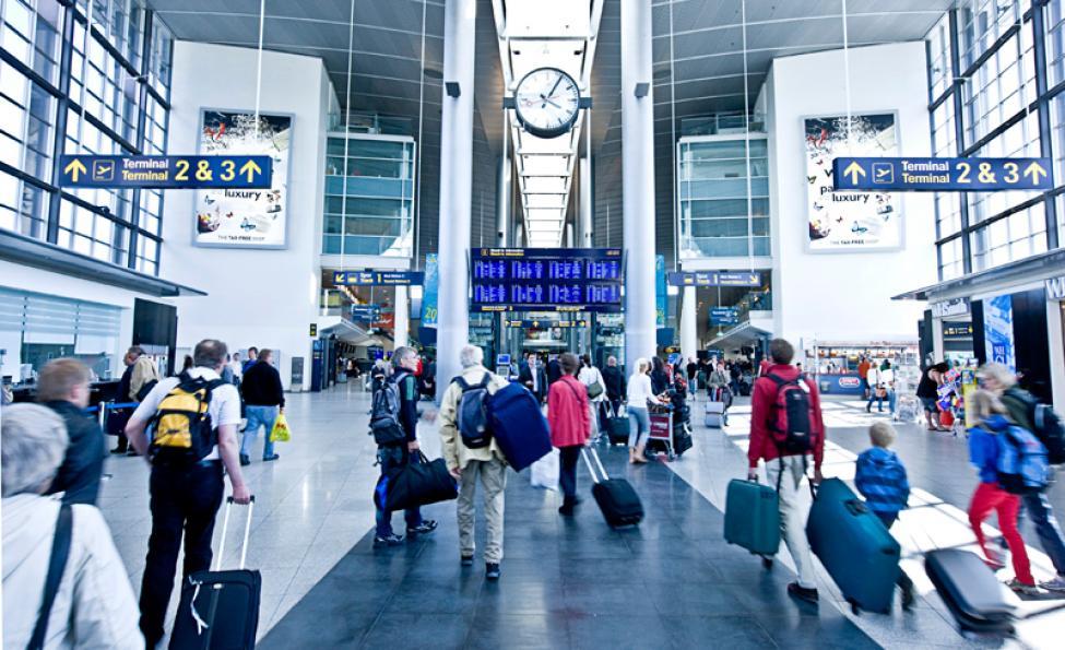 ankomstterminalen københavns lufthavn