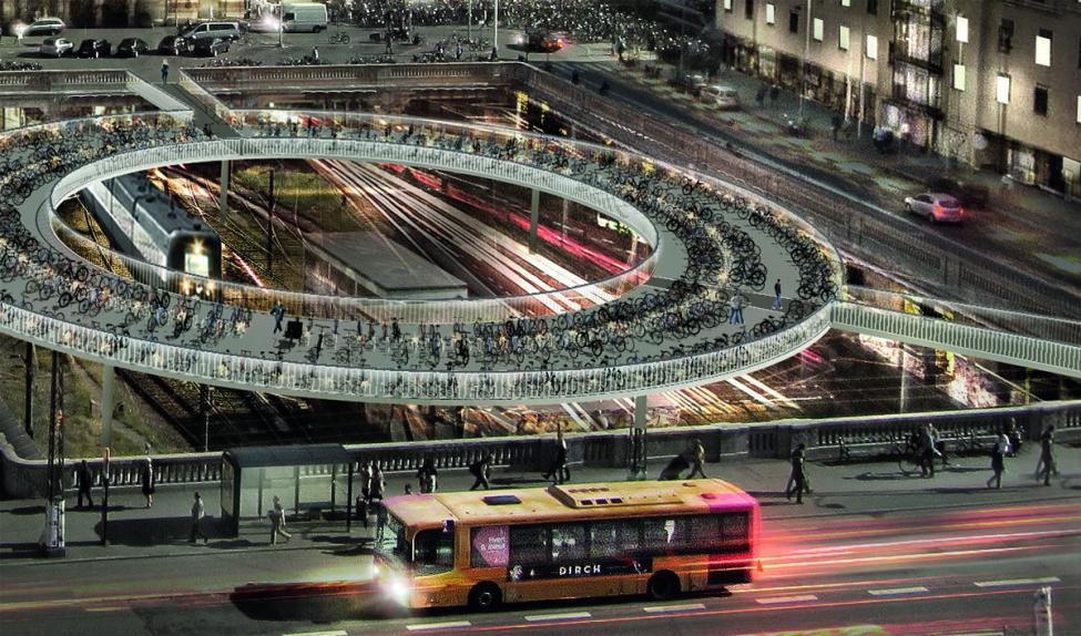 cykelparkering banegårdsgraven hovedbanen