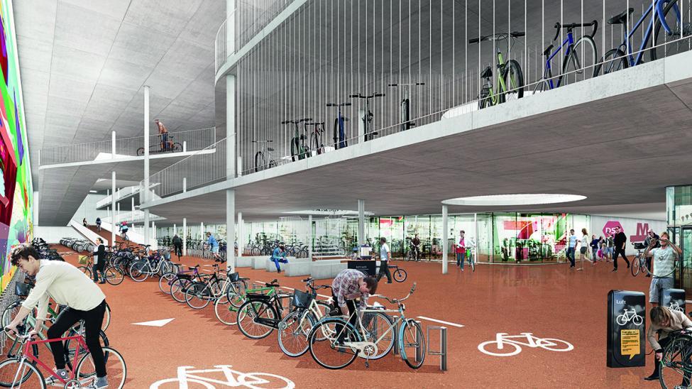 bernstorffsgade cykelparkeringskælder