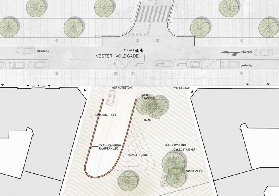 Dantes Plads parkering plan