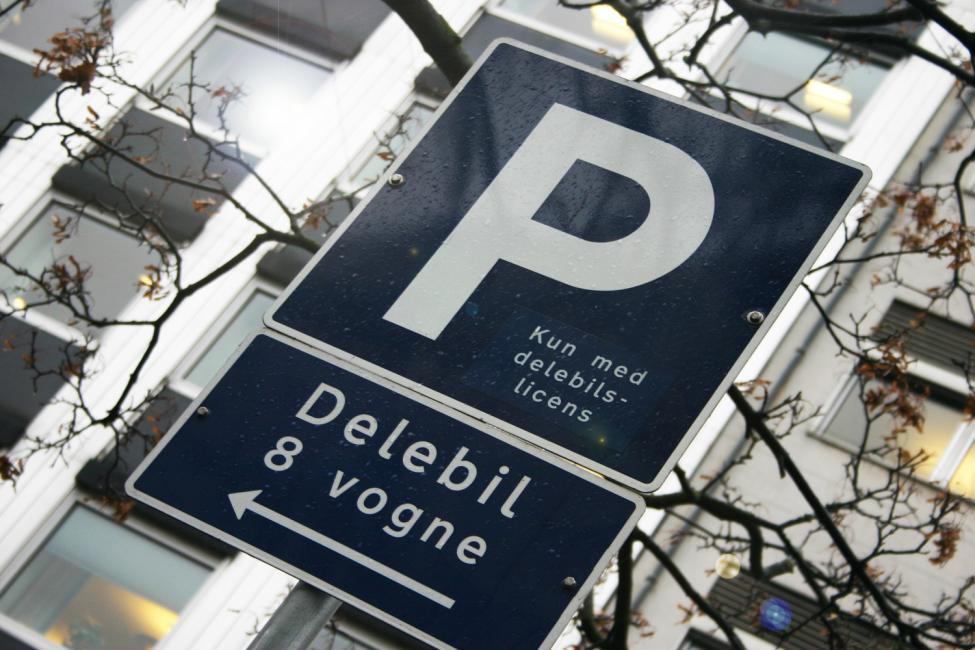 delebil parkering københavn
