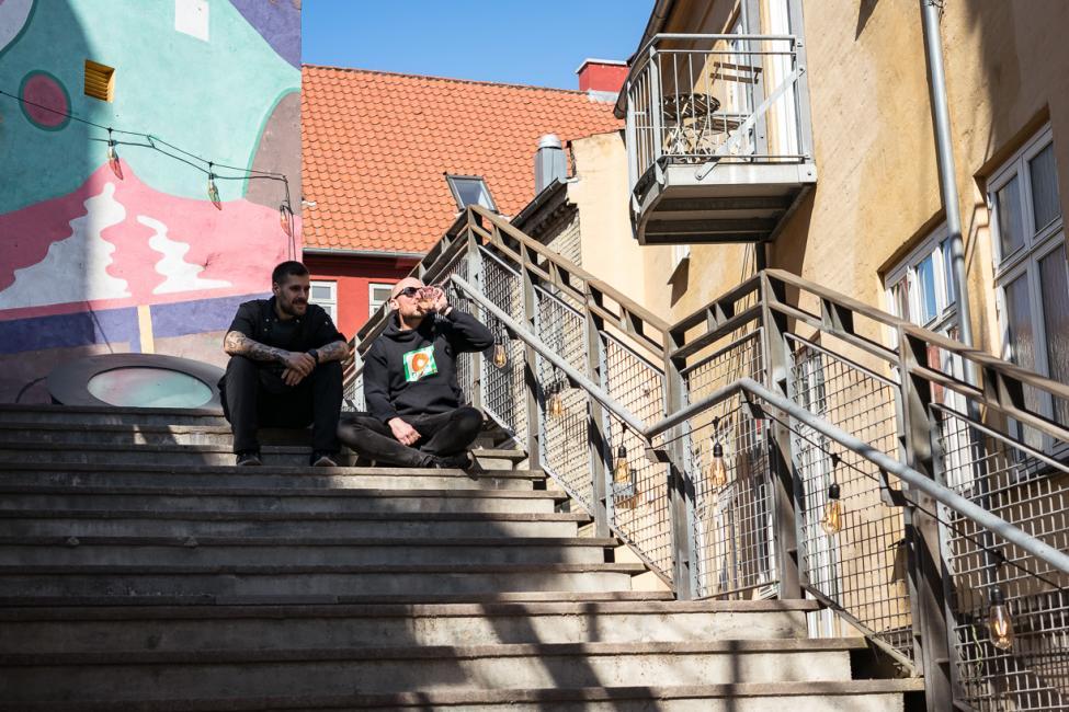 boltens gård trappe