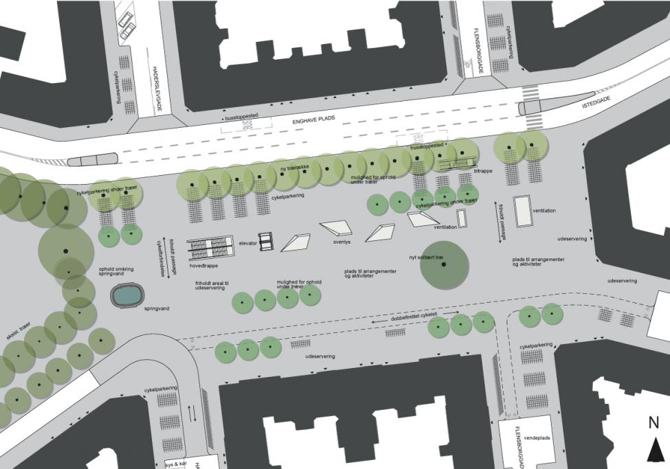 Enghave Plads plan
