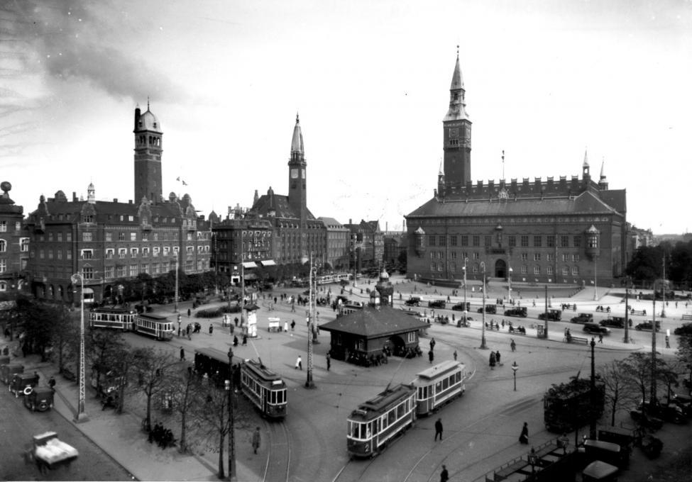 sporvogne københavns rådhusplads