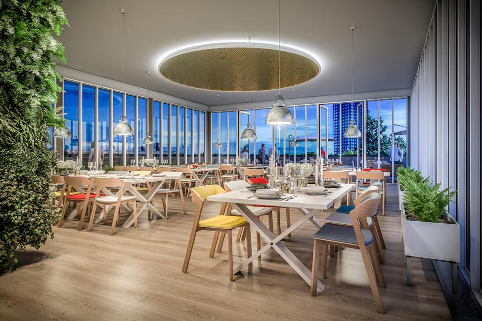 rooftop restaurant hotel ottilia