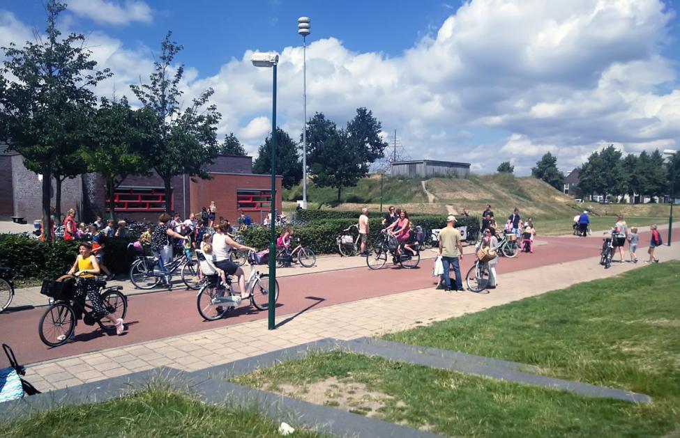 Houten cykler